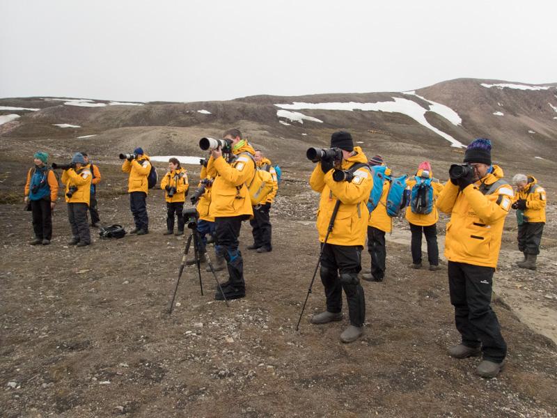 2016 Arctic Photo Tour participants