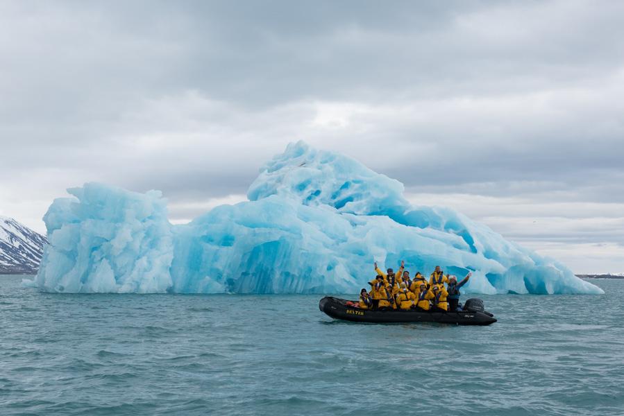 Arctic cruising