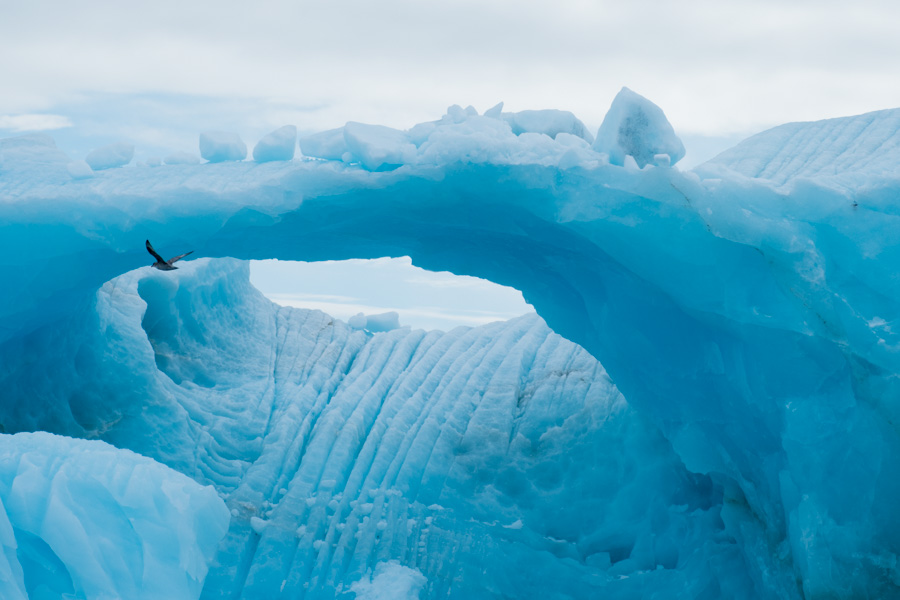 Arctic ice formations