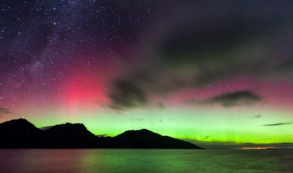 Aurora Australis - Coles Bay - Freycinet - Tasmania
