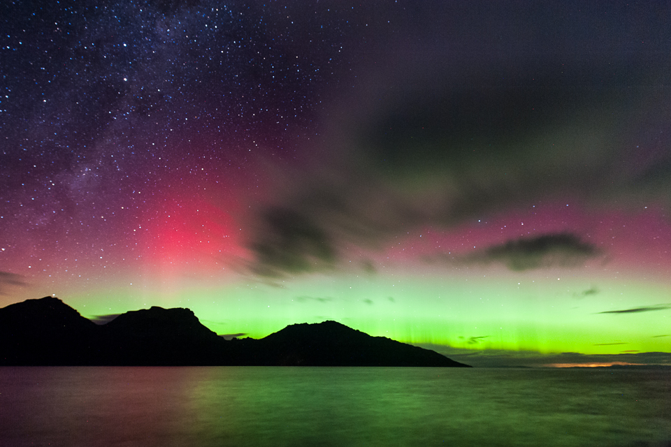 Aurora Australis - Coles Bay - Tasmania