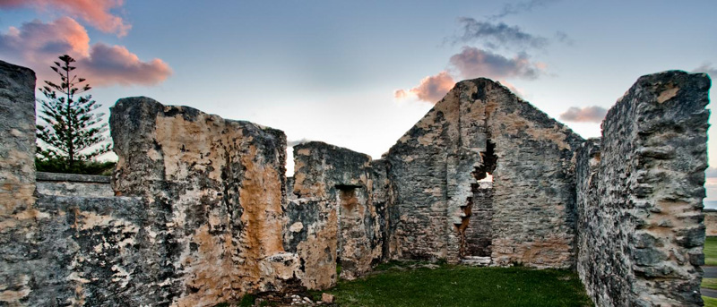 Convict Ruins - Norfolk Island
