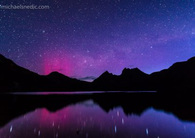 Cradle Mountain and Dove Lake Aurora Austrlis – Tasmania