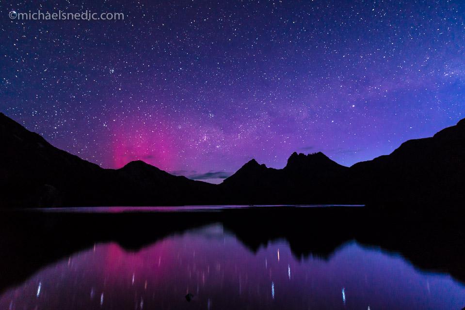Cradle Mountain and Dove Lake Aurora Austrlis – Tasmania