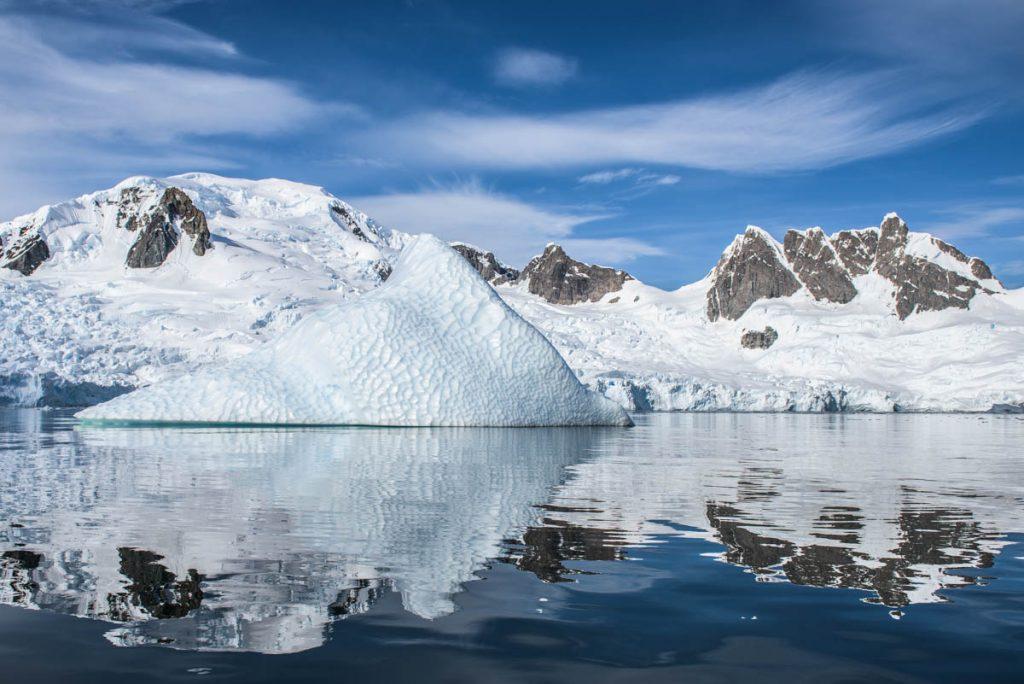 Icebergs - Antarctica © Michael Snedic