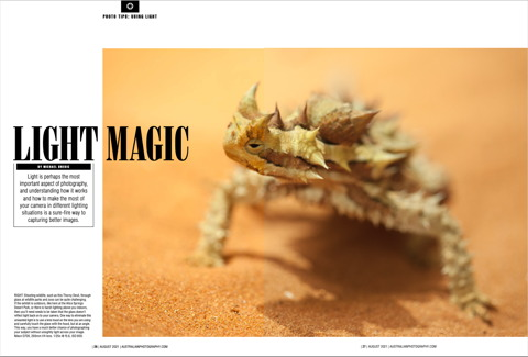 Light Magic Australian Photography Magazine August 2021