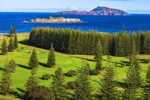 Norfolk Island, South Pacific, Australia.
