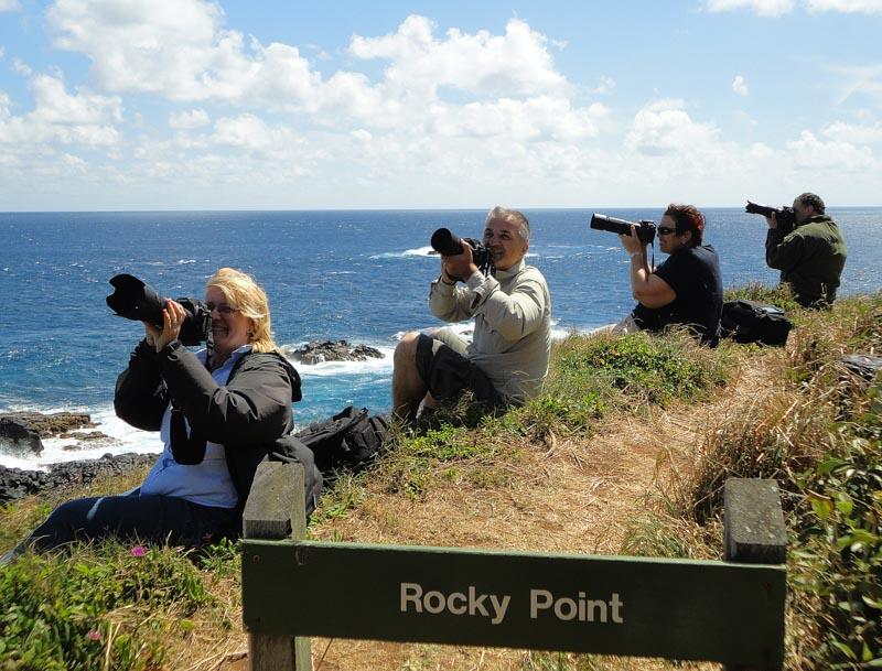 Michael with trekabout Photography Workshop participants - Norfolk Travel