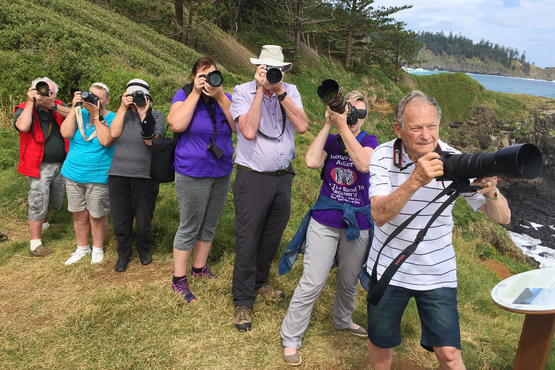 Norfolk Island workshop participants