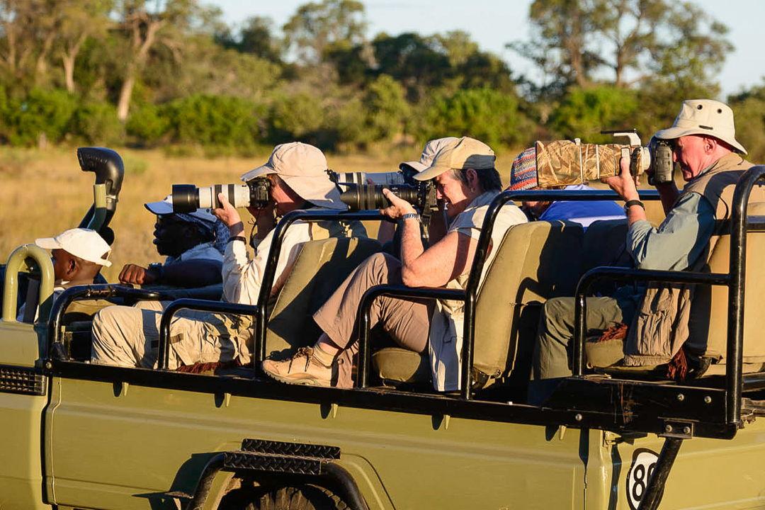Photo safari participants