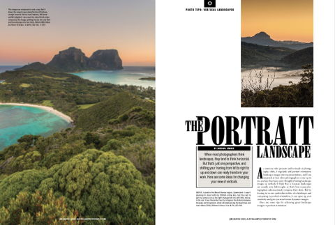 The Portrait Landscape Australian Photography Magazine March 2020