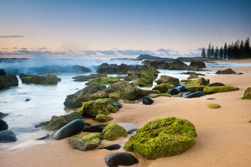 Sunrise at Cemetery Bay - Norfolk Island