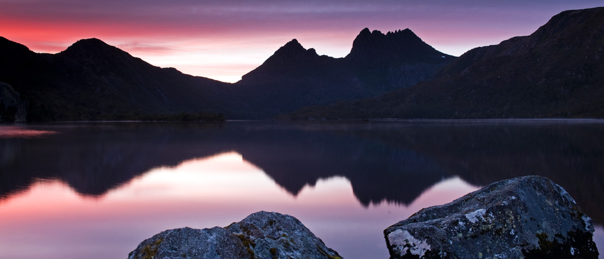 Sunrise at Cradle Mt and Dove Lake - Tasmania