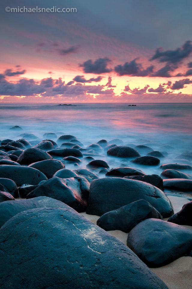 Sunset at Anson Bay – Norfolk Island