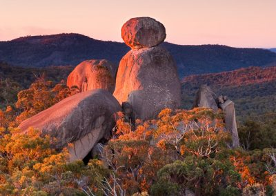 Sunset at the Sphinx Girraween NP – Queensland