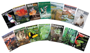 Wildlife Landscape magazine covers