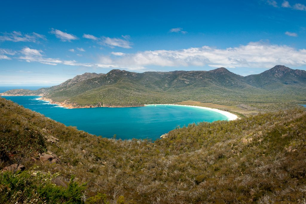 Wineglass Bay Freycinet N.P. - Tasmania