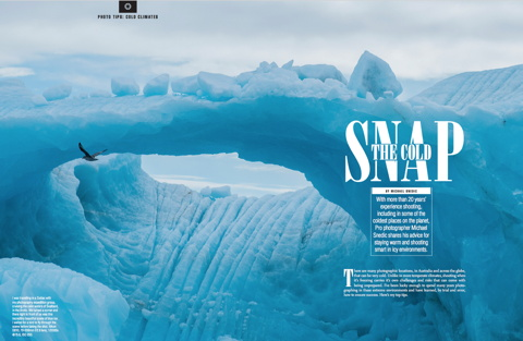 The Cold Snap – Photographing In Cold Climates - Australian Photography – September 2017