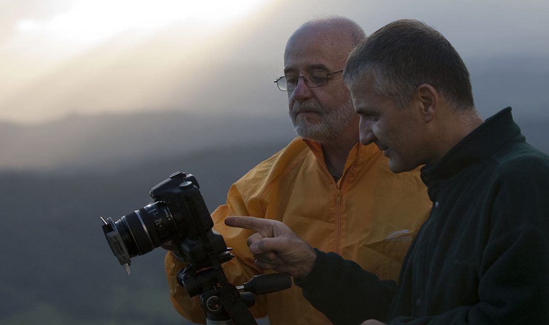 Michael teaching photography