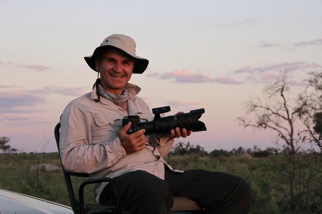 Michael Snedic in Botswana