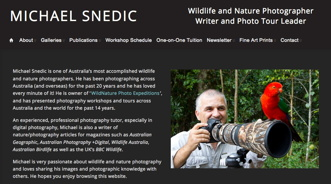 Michael Snedic website