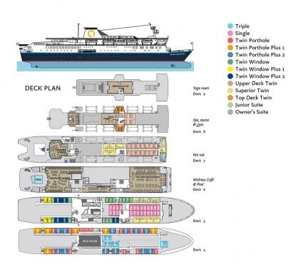 ocean endeavor deckplan