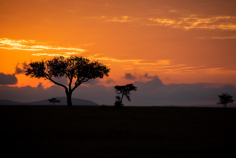 sunset kenya