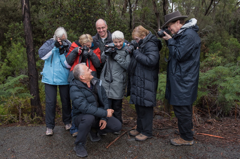 Tasmanian Photo Tour participants