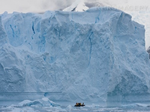 Photographers and iceberg | Antarctic Photography Workshop and Tour