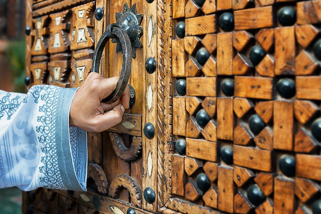 Morocco doorknobs
