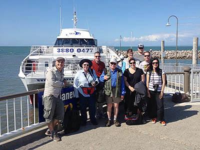 whale-photography workshop participants